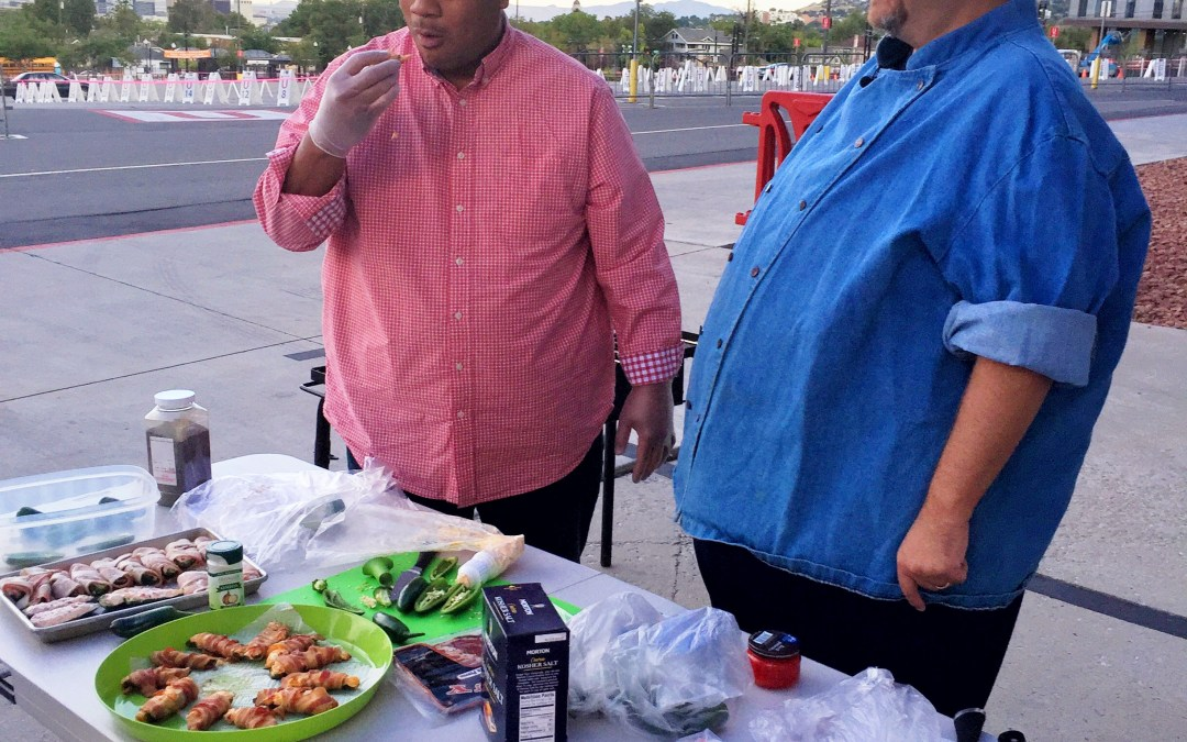 Tailgating at Rice Eccles Stadium with Big Budah and Fox13's Good Day Utah Recipe Roundup