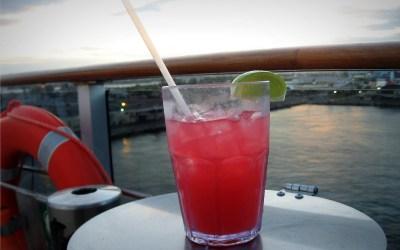 Caribbean Sunset Mocktail