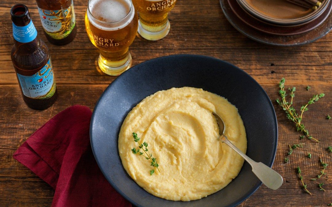 Angry Orchard's – Caramelized Potato and Rutabaga Mash
