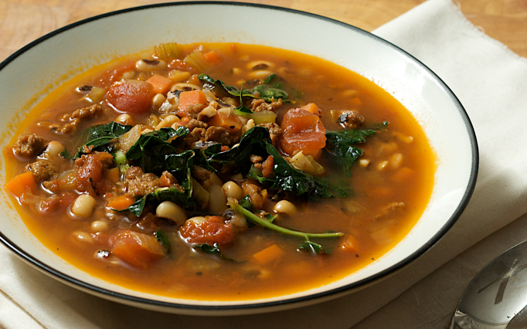 Carrabba's Famous Sausage and Lentil Soup