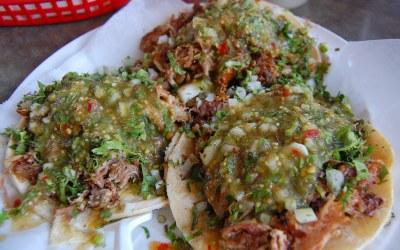 Pressure Cooker Braised Lamb Tacos
