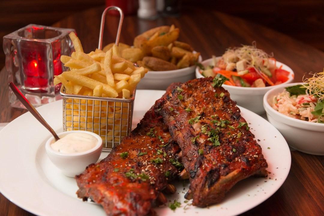 Salt and Pepper Beer Braised Pork Ribs