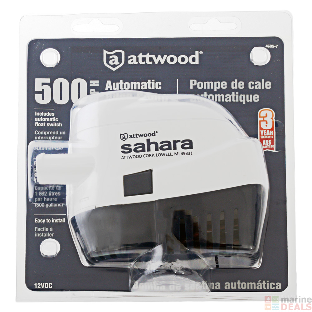 medium resolution of attwood sahara s500 automatic bilge pump 12v