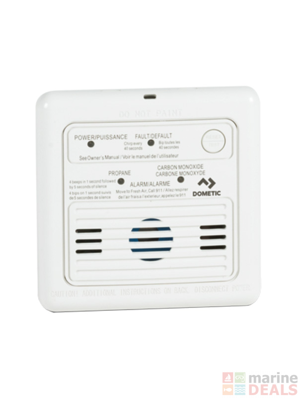 Buy Dometic Dual LP/CO Gas Detector 12v online at Marine