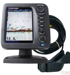 furuno fcv 628 5 7 colour lcd fishfinder with p66 transducer 50 200khz [ 1000 x 1000 Pixel ]