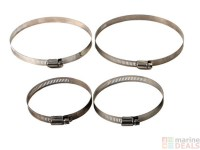 Buy Stainless Steel Screw/Band Hose Clamp online at Marine ...