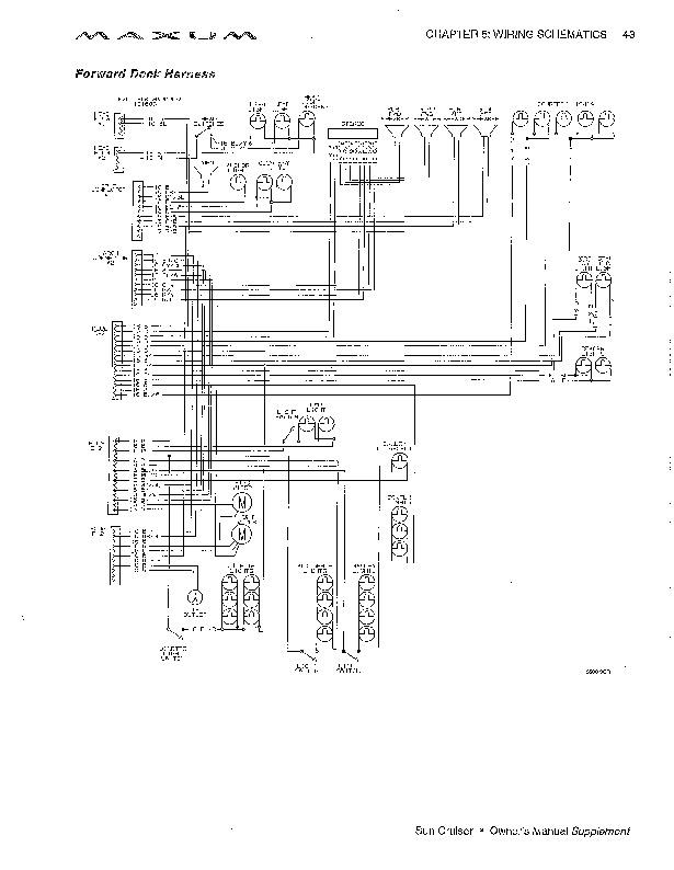 2000 Maxum Sun Cruisers 2400SCR 2800SCR 3000SCR 3300SCR