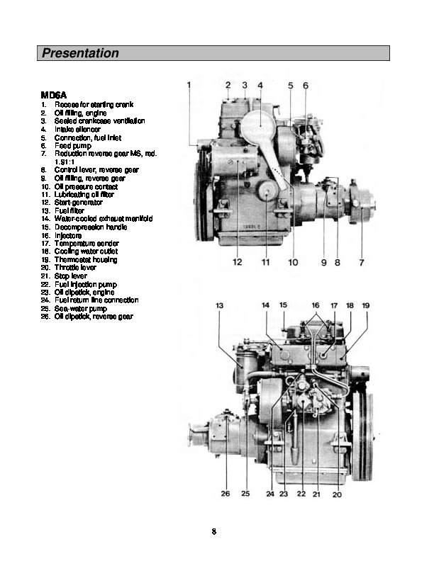 Volvo Penta MD6A MD7A Workshop Manual