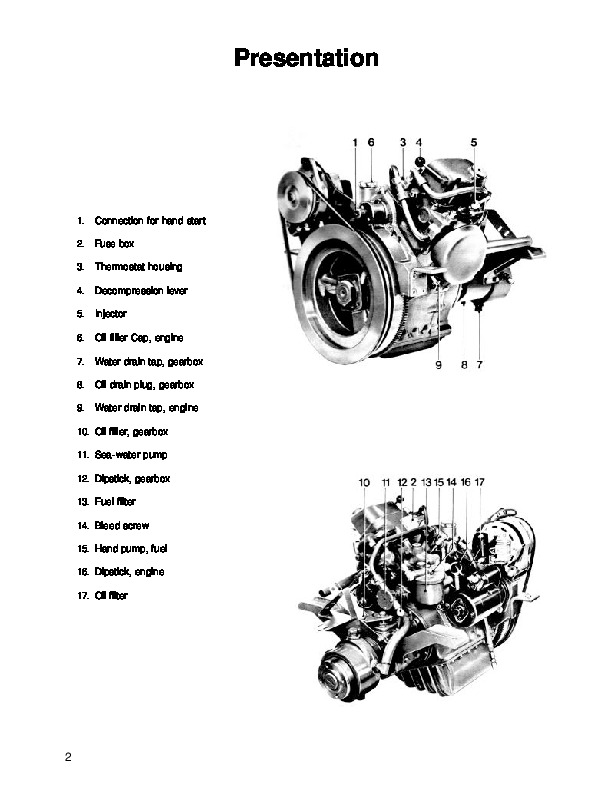 Volvo Penta MD5A Marine Diesel Engine Workshop Manual