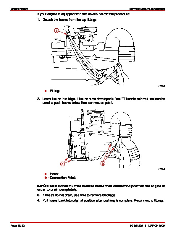 Mercury MerCruiser GM 4 Cylinder 181 cid 3.0L Marine