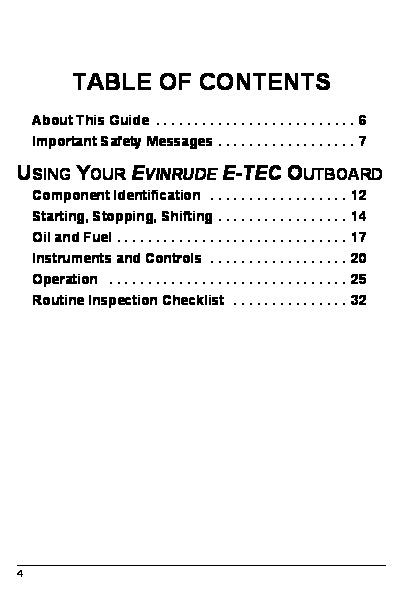 2007 Evinrude 75 90 hp E-TEC PL PX SL Outboard Motor