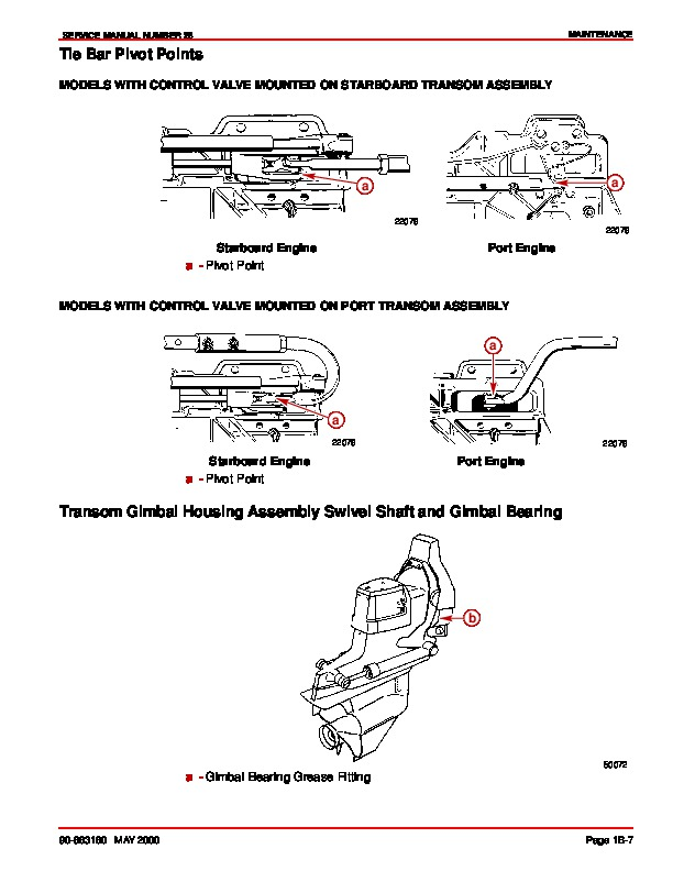 Mercury MerCruiser Bravo Outdrives Sterndrives Marine
