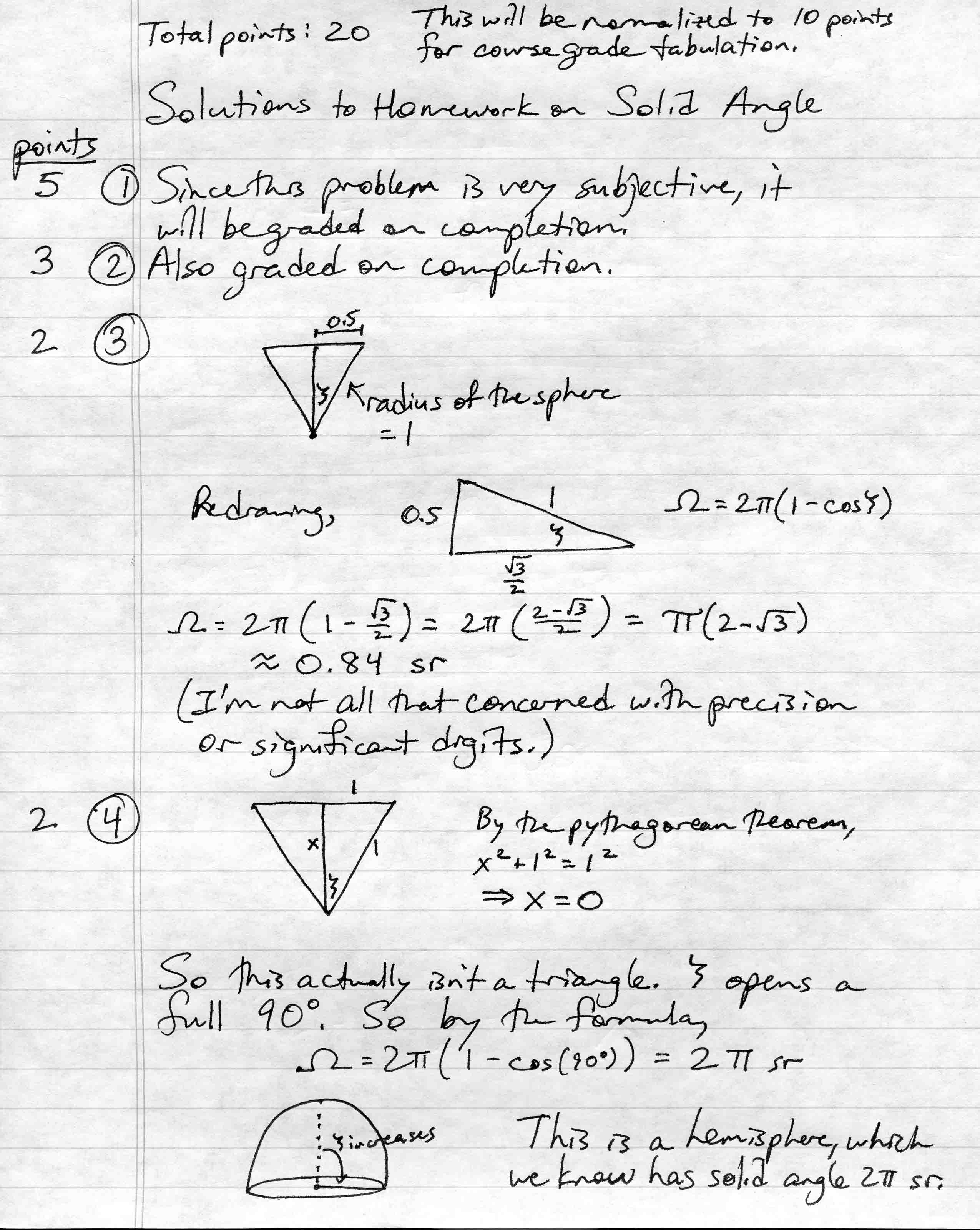 Page 1 (problems 1-4)