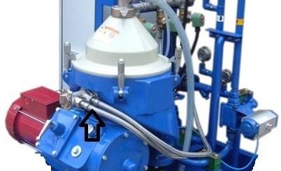 Alfa Laval oil separator