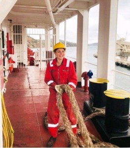 Safety PPE during Mooring