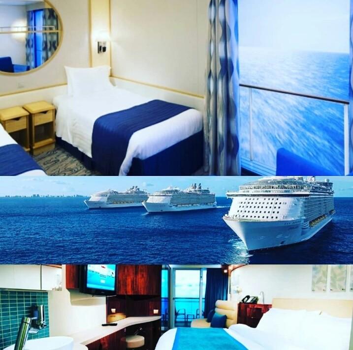 Cruise ship cabin selection