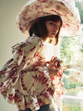 Fran Summers for Sunday Times Style by Matthew Kristall