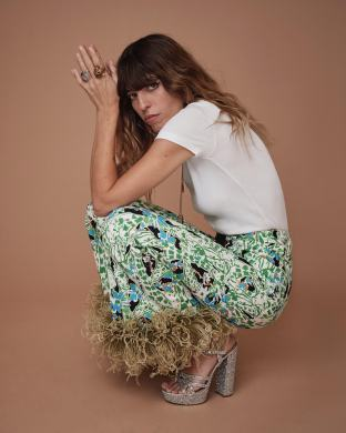 Lou Doillon for Elle by Eric Guillemain