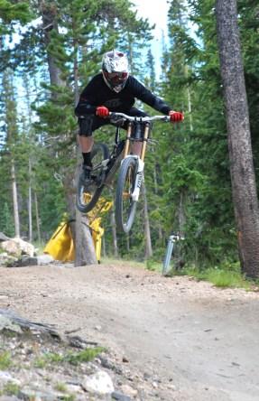 Upper shy ann, trestles bike park