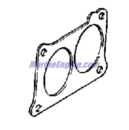 Johnson Carburetor And Manual Starter Group Parts for 1967