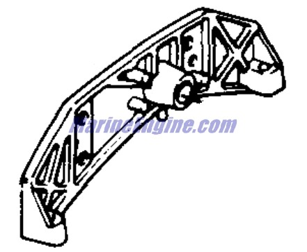 Johnson Motor Cover Parts for 1971 50hp 50ESL71S Outboard