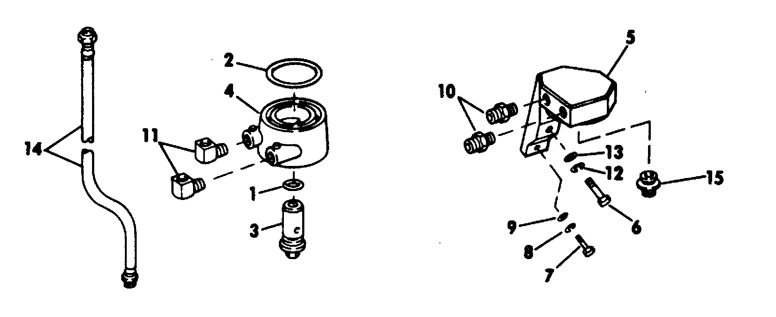 Remote Oil Filter Kit-inboard 305-350-cid Accessories for