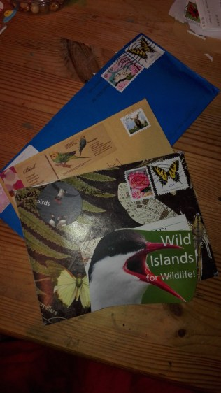 Letters from Canada and USA