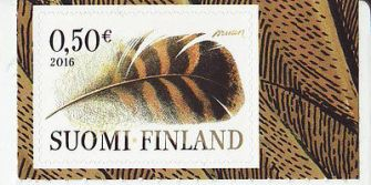 finland-2016-mnh-feather-birds-one