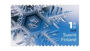 stamp-suomi-finland-2016-ice-crystal-collectorzpedia