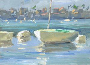 tombrown 300x216 - FINE ART: NEWPORT HARBOR
