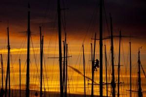 sunset - Dock side