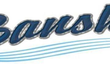 Banshee boat lettering