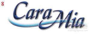 caramia 8 - Random boat names