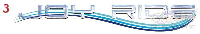 Joy Ride custom boat lettering service. - 3