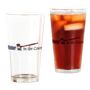 Drinking Glass with boat name