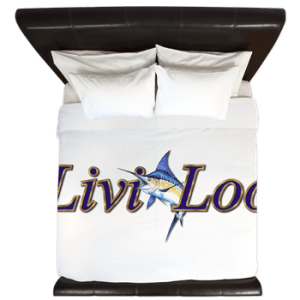 King Duvet printed with boat graphics