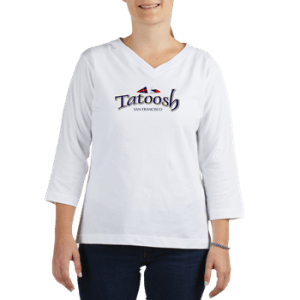 Womens Longsleeve Shirt with boat name