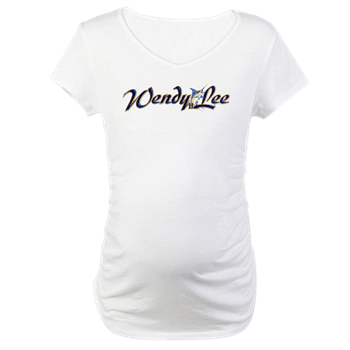 Women's Maternity T with boat name