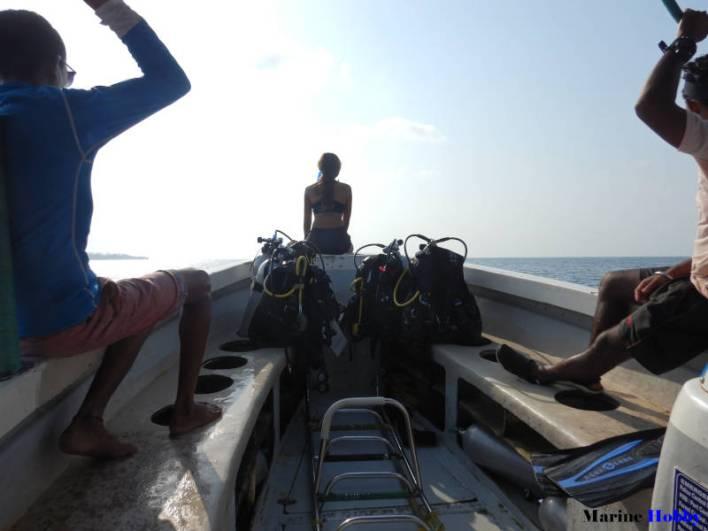 Scuba Diving Andaman Boat Ride
