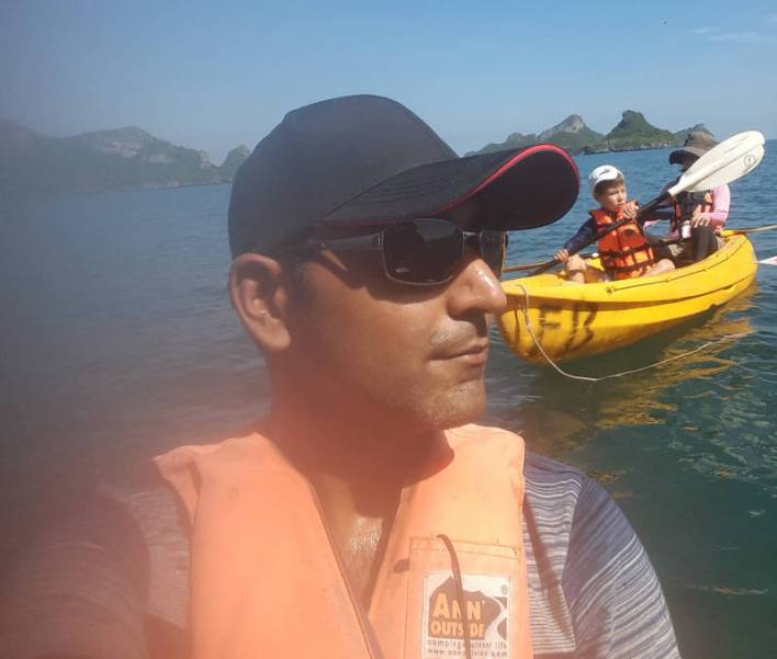 Kayaking in the Gulf of Thailand-1