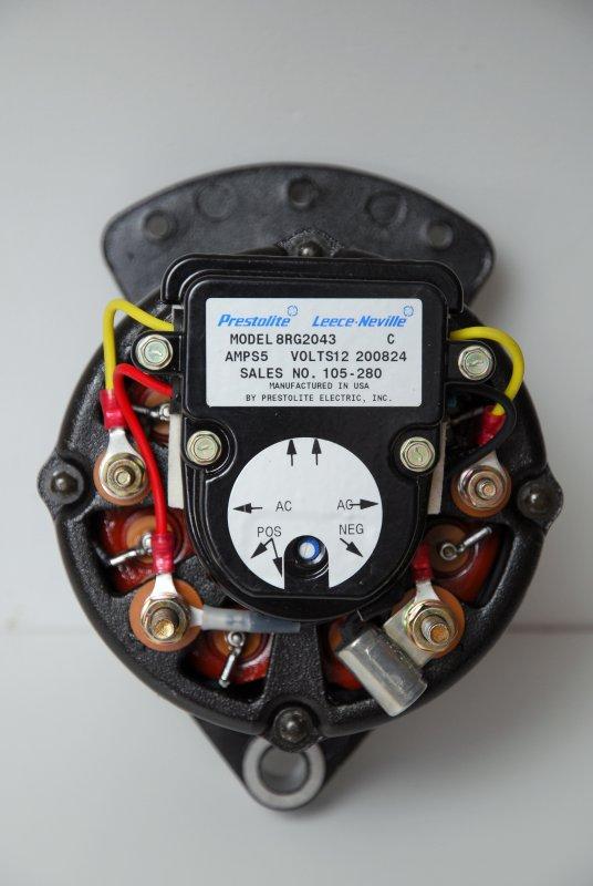 Motorola Alternator Wiring Diagram : motorola, alternator, wiring, diagram, External, Regulation, Conversion, Leece-Neville, Alternator, Marine