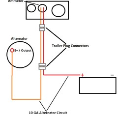 Vw Golf Alternator Wiring Diagram For Bathroom Extractor Fan Universal Diesel Engine Harness Upgrade Marine How To Bypass The Orange Red Circuit