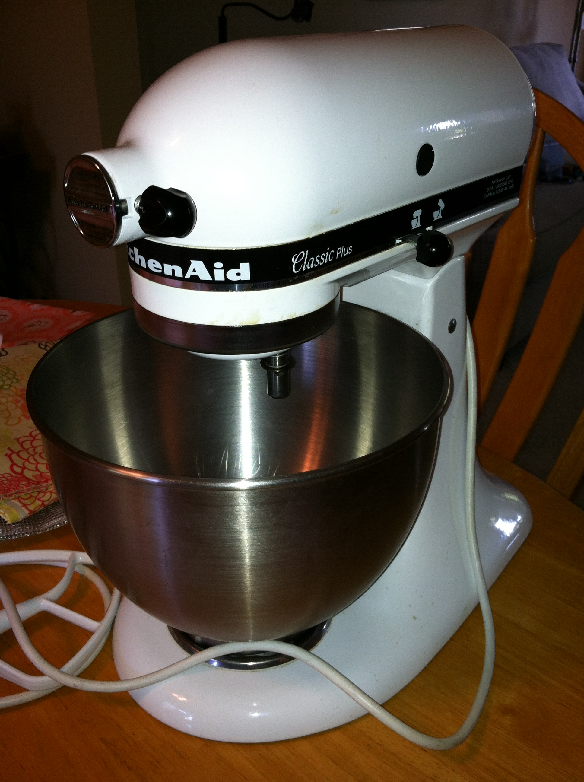 kitchen aid mixer cover lights over sink diy kitchenaid part 1  things tings and