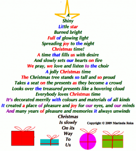 photo Christmas Tree Poem Short short poems marinela reka christmas