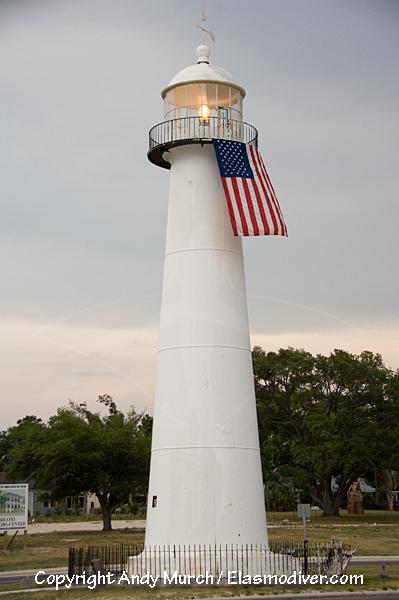Biloxi Lighthouse Gulfport Mississippi USA