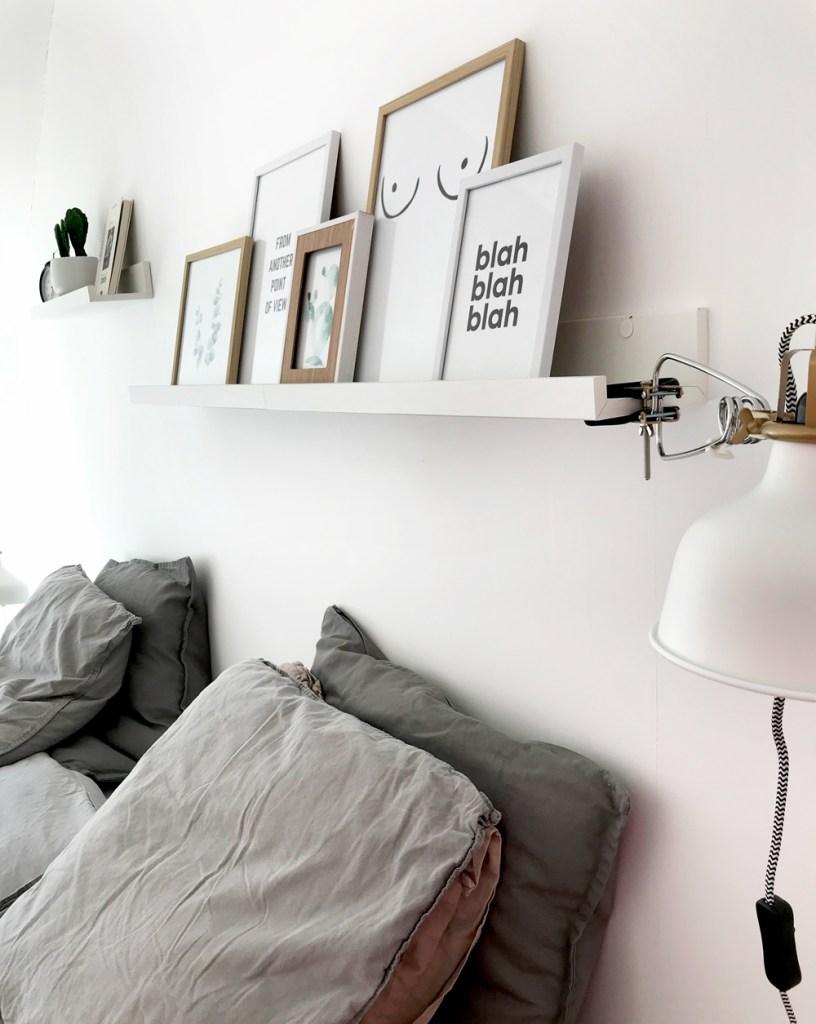 Tablette pour photo Mosslanda de chez Ikea