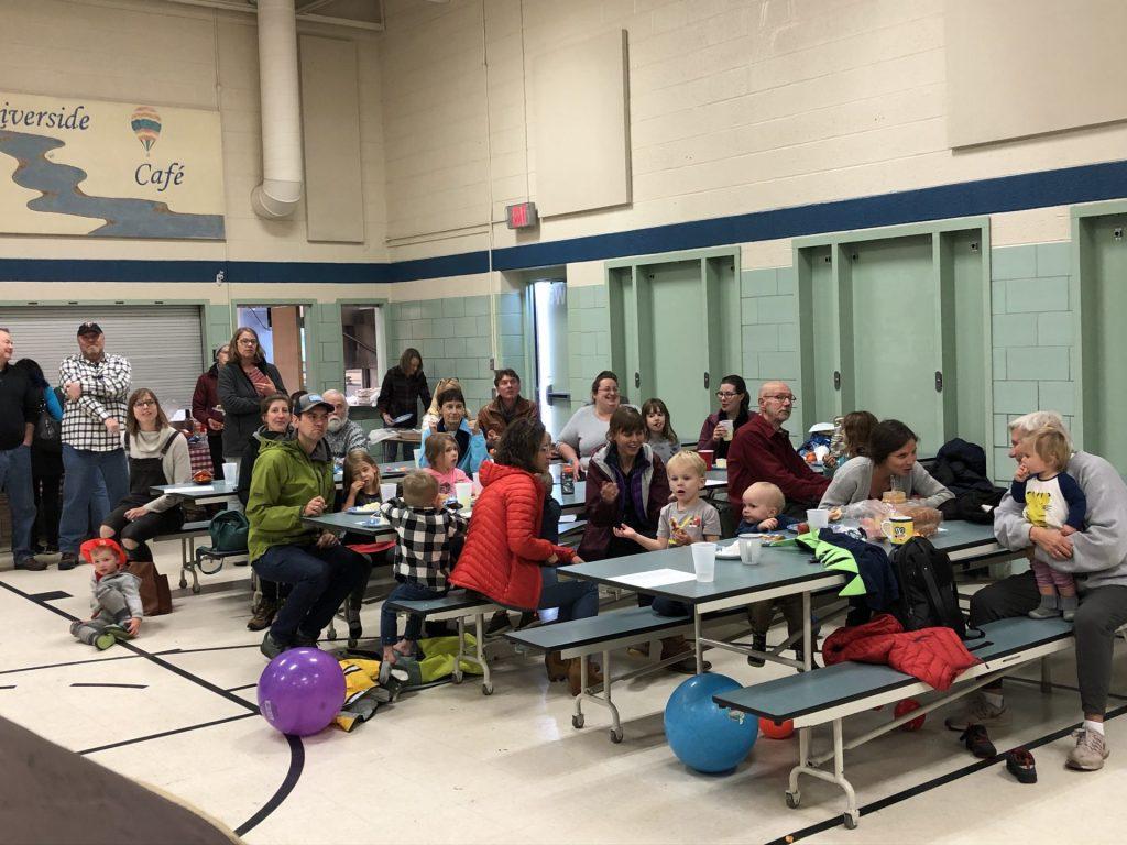 Marine Mills Folk School Birthday Party in 2019