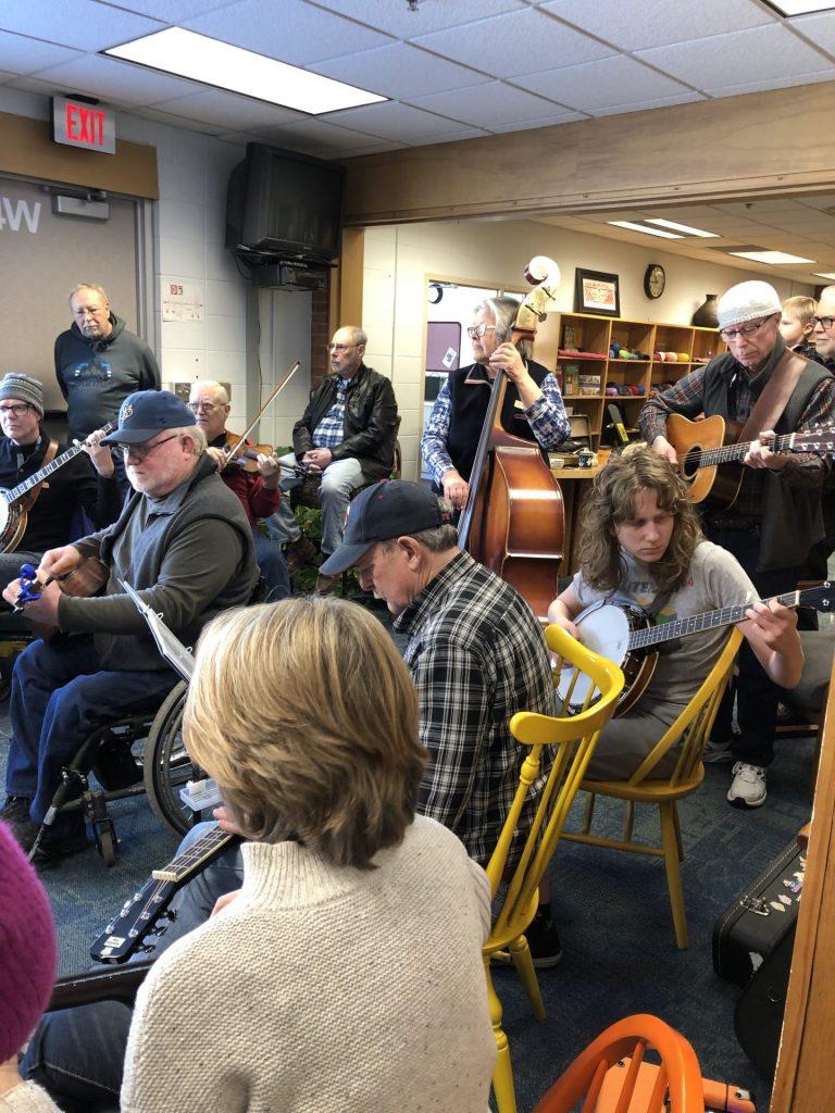 Bluegrass Jam in February, 2020