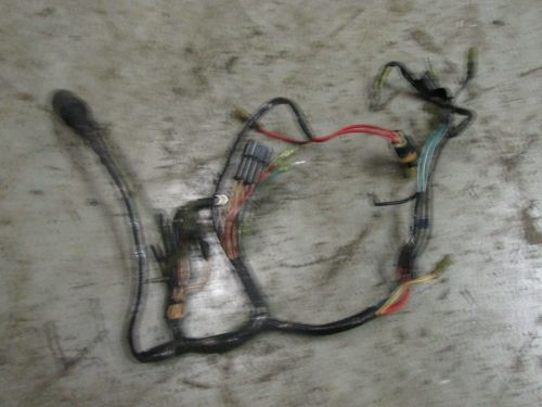 small resolution of mercury controls and wiring harness
