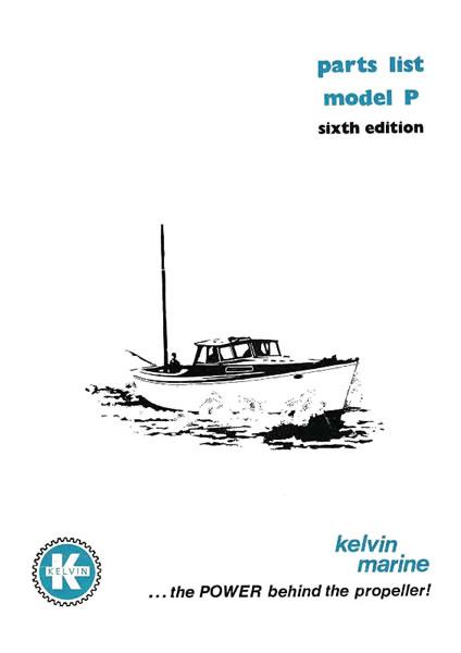 Kelvin P Series Parts Manual P2 & 4 and P2 &4R